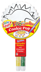 Stegosaurus Cookie Pop