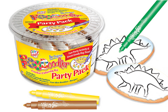 Stegosaurus Cookie Coloring Party Pack