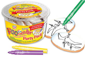 Pteranodon Cookie Coloring Party Pack