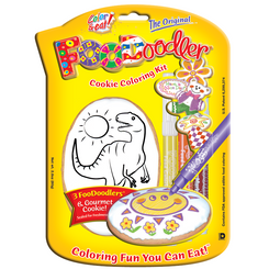 T-Rex Cookie Coloring Kit