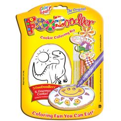 T-Rex Cookie Coloring Kit