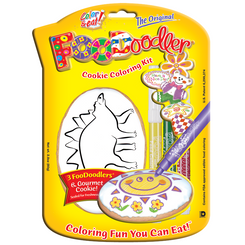 Stegosaurus Cookie Coloring Kit