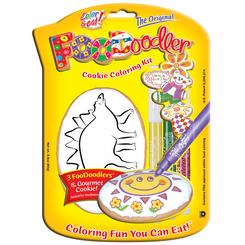 Stegosaurus Cookie Coloring Kit