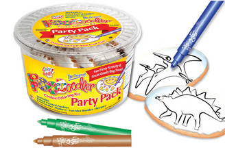 Stegosaurus & Pteranodon Coloring Party Pack