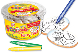 Earth Cookie Coloring Party Pack
