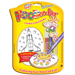 Spaceship Cookie Coloring Kit