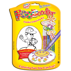 Baseball Cookie Coloring Kit