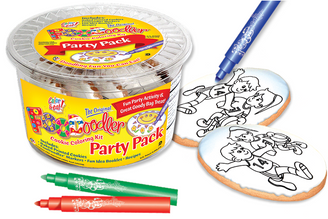 Basketball Cookie Coloring Party Pack