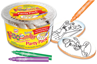 Football & Baseball Coloring Party Pack