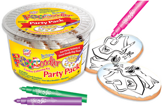 Accessories Cookie Coloring Party Pack
