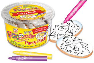 Ballet Slippers Cookie Coloring Party Pack