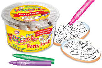 Love / Peace Cookie Coloring Party Pack