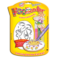 Ballet Slippers Cookie Coloring Kit