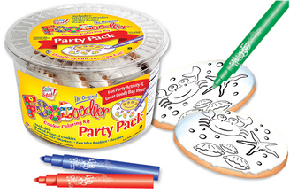 Sea Floor Cookie Coloring Party Pack