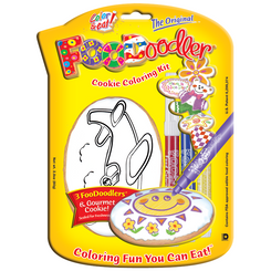 Airplane Cookie Coloring Kit
