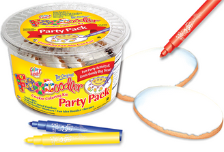 Plain Cookie Coloring Party Pack