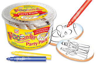 Purim Cookie Coloring Party Pack