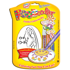 Shabbat Cookie Coloring Kit