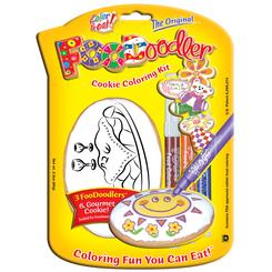 Shabbat Cookie Coloring Kit