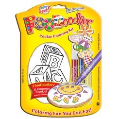 Blocks Cookie Coloring Kit