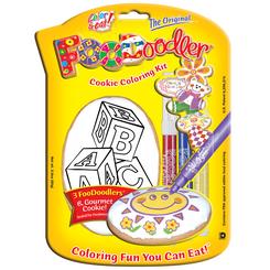 Blocks Cookie Coloring Kit