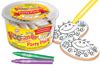 Sun Cookie Coloring Party Pack
