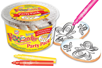 Butterfly Cookie Coloring Party Pack