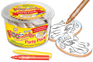 Puppy Cookie Coloring Party Pack