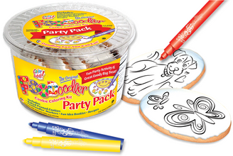 Butterfly & Puppy Cookie Coloring Party Pack