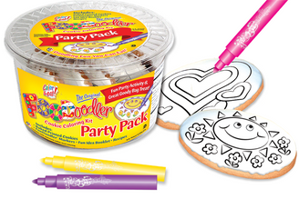 Heart & Sun Cookie Coloring Party Pack