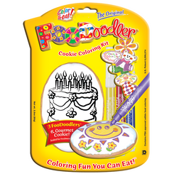 Cake Cookie Coloring Kit