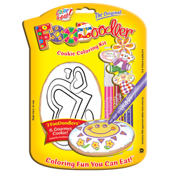 Hearts Cookie Coloring Kit