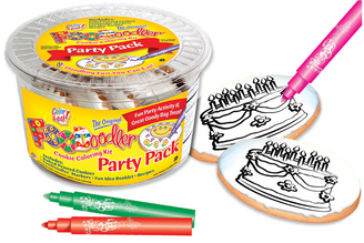 Cake Cookie Coloring Party Pack