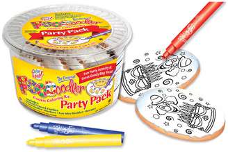 Clown Cookie Coloring Party Pack
