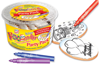 Balloon & Clown Cookie Coloring Party Pack