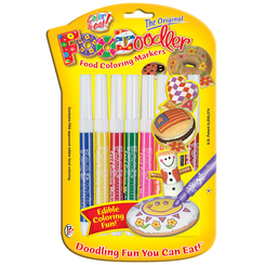 FooDoodler Markers, 8 Assorted Colors
