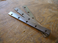 """Redfox 12"""" and 10"""" (3) knife planer sets"""