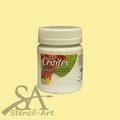Crisitex Fabric Paint 120 ml – Cream White (Semi-Opaque)