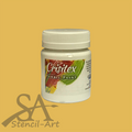Crisitex Fabric Paint 120 ml – Dark Beige (Semi-Opaque)