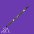 Tombow Dual Brush Pens - Violet 606