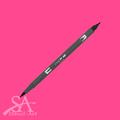 Tombow Dual Brush Pens - Hot Pink 743