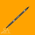 Tombow Dual Brush Pens - Chrome Yellow 985