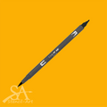 Tombow Dual Brush Pens - Chrome Orange 993