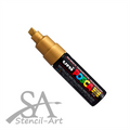 Uni Posca Paint Marker PC-8K - Gold