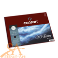 Canson Mi-Teintes® Spiral Pad 24x32cm 160gsm 16 Sheets Black #400030226