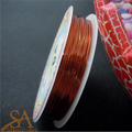 Jewellery Wire 0.4mm 12m - Orange