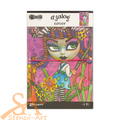 Dyan Reaveley's Dylusions Dyalog Canvas Printed Cover Believe #DYT60581