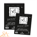 Canson XL Dessin Noir (Black) Spiral Pad 150gsm 40 Sheets A4 #400039086