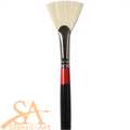 Daler-Rowney Georgian Brushes Series 84 - Fan - No 6 (40x25mm)