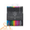 Kelly Creates Multicolor Small Brush Pens 10/Pkg #343552